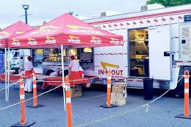 100 In N Out Burger Truck California Burger Chain Come North To Langley Once A Year For