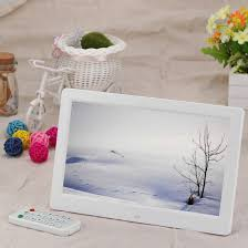cadre photo numérique grand écran 10 1 pouces hd avec support et