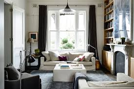 A Relaxed Living Room With Modern Touches