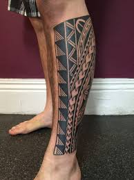 Polynesian Calf In Progress