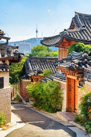 100 South Korea Houses Cozy Old Narrow Street And Traditional N Houses Of Bukchon