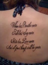 50 Inspirational Quotes Tattoos 13