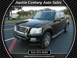 100 Craigslist Austin Texas Cars And Trucks By Owner Used Ford Explorer Sport Trac For Sale TX CarGurus