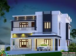 100 Contempory House 2555 Square Feet 4 Bedroom Contemporary House Plan Kerala