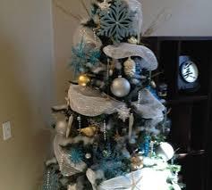 Icy Wonderland Christmas Tree