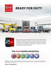Hino Motors Canada | Light & Medium Duty Commercial Trucks Hino Genuine Parts Nueva Ecija Truck Dealers Awesome Trucks Sel Electric Hybrid China Manufacturers And Hino Adds Five More Deratives To Popular Mcv Range Ryden Center Commercial Medium Duty Motors Canada Light Dealer Hudaya 2018 Fd 1124500 Series Misc Vic For Sale Fl 260 Jt Sales Dan Bus Authorized Dealer Flag City Mack Used Suppliers At Hinowatch Expressway