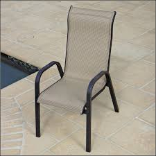 Stackable Sling Back Patio Chairs by Stackable Mesh Patio Chairs Patios Home Decorating Ideas