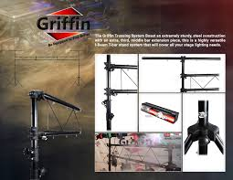 100 Griffin Ibeam DJ Light Truss Stand System By Stage Trussing Lighting
