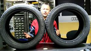 Tire Size Differences -- Audi Conshohocken - YouTube