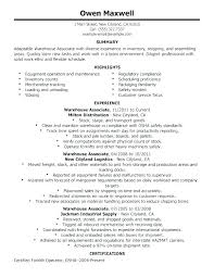 Sample Of General Resume Labour Objective For Samples Examples