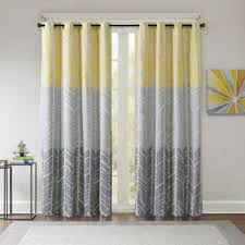 Grommet Top Curtains Jcpenney by Intelligent Design Kennedy Blackout Grommet Top Curtain Panel