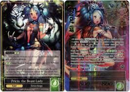 Sacred Beast Deck 2016 by Otaku Offers For Pricia The Beast Lady Pricia The
