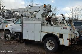 100 Altec Boom Truck 1997 GMC C7500 Bucket With AP 45