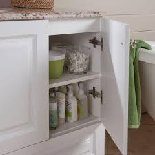 Glacier Bay Bathroom Vanity by Glacier Bay Stafford 36 In Vanity In White With Stone Effects