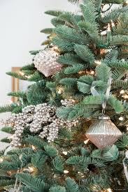 Silvertip Fir Christmas Tree by Dining Room Christmas Tree With Balsam Hill Nina Hendrick Design Co
