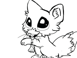 Coloring Pages Cute Animals Baby Timeless Miracle Com