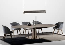 100 Minotti Dining Table Bellagio Set 1 Type H67 3D Model In 3DExport