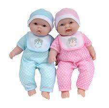 Baby Boutique 13Inch Lots To Cuddle Babies Soft Body Twins Dolls