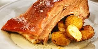 comment cuisiner un cochon cochon de lait rôti recette sur cuisine actuelle