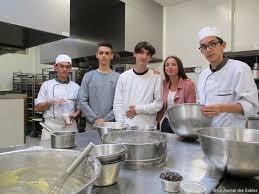 bac pro cuisine une mini entreprise de cours culinaires créée au lycée valère