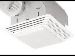 broan model 678 bathroom light exhaust fan youtube
