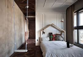 100 Kc Design Moody Apartment Renovation Is All About Natural Materials