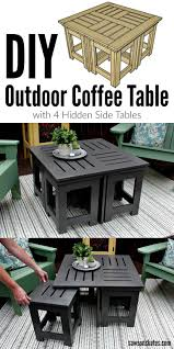 DIY Outdoor Coffee Table With 4 Hidden Side Tables | New ... Best Balcony Fniture Ideas For Small Spaces Garden Tasures Greenway 5piece Steel Frame Patio 21 Beach Chairs 2019 The Strategist New York Magazine Tables At Lowescom Sportsman Folding Camping With Side Table Set Of 2 Garden Fniture Ldon Evening Standard Diy Modern Outdoor Inspired Workshop Easy Kids And Chair Set Free Plans Anikas Kitchen Ding For Glesina Fast Table Chair Inglesina Usa Buy Price Online Lazadacomph