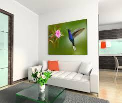 120x80cm leinwandbild auf keilrahmen kolibri violet blume