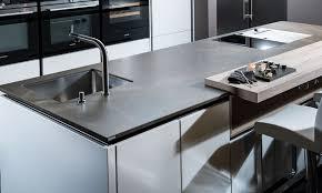 arbeitsplatten materialien der küchenmacher küche ist