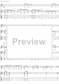 Smashing Pumpkins 1979 Tab by Zero With Tab Staff Sheet For Piano And More