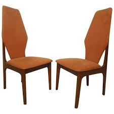 Adrian Pearsall Style Tall Back Chairs | Claire Dining ...