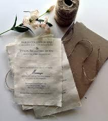 DIY Rustic Spring Wedding Invitation Kit Burlap Fabric