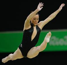 Dominique Moceanu Floor Routine by 2016 Rio Olympics Balance Beam Final Catalina Ponor Romania