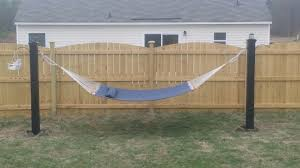 Backyard & Patio: Admirable Homemade Hammock Stand How To Make At ... Fniture Indoor Hammock Chair Stand Wooden Diy Tripod Hammocks 40 That You Can Make This Weekend 20 Hangout Ideas For Your Backyard Garden Lovers Club I Dont Have Trees A Hammock And Didnt Want Metal Frame So How To Build Pergola In Under 200 A Durable From Posts 25 Unique Stand Ideas On Pinterest Diy Patio Admirable Homemade To At Relax Your Yard Even Without With Zig Zag Reviews Home Outdoor Decoration