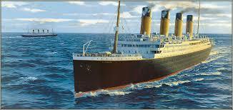Brittanic Sinking by Britannic Sinking Drawing