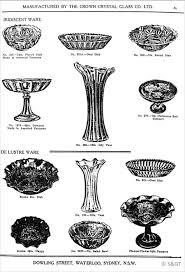 100 Flannel Flower Glass Crown Crystal Catalogue Carnival Worldwide