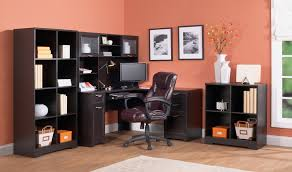 Realspace Broadstreet Contoured U Shaped Desk by Hon Series Right Return For Desk Sauder Orchard Hills L Shaped