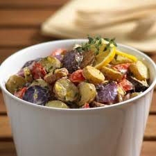 Roasted Fingerling Potato Salad With Lemon And Thyme