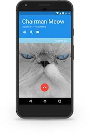 Android call screen