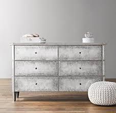 Z Gallerie Glass Dresser by Z Gallerie Simplicity Mirrored 9 Drawer Dresser
