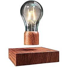 vgazer magnetic levitating floating wireless led light bulb desk