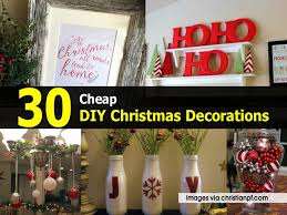 Outdoor Christmas Decorations Ideas On A Budget by Christmas Cheap Christmas Decorations Best Ideas On Pinterest