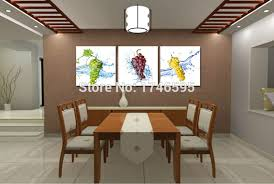 Canvas Wall Art For Dining Room by Latest Dining Room Artwork Prints With Popular Dining Room Wall