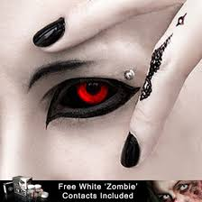 Halloween Contact Lenses Amazon by Sclera Contact Lenses Black 70 A Pair Free Zombie Lenses