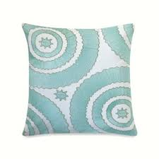 Anthology Bungalow Bedding by Anthology Bungalow Embroidered Square Toss Pillow