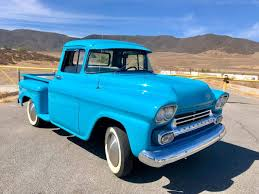 100 Chevy Stepside Truck For Sale 1958 Chevrolet Apache For Sale 2162390 Hemmings Motor News
