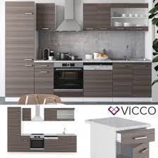 vicco küche r line 300 cm edelgrau