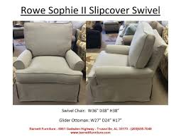Rowe Nantucket Sofa With Chaise barnett furniture slipcover sofas sectionals chair and ottoman