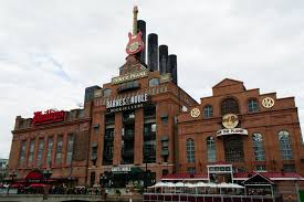 Baltimore | Baltimore Harbour Area | Downtown Baltimore ... This Is A Repurposed Baltimore Power Plant That Was Built In 1900 Barnes And Noble On The Waterfront Maryland Stock And Cafe Photos Hard Rock Historic Ships At Trip Aquarium Paula Harbour Area Dtown Revisiting Childhood The National Md Of Power Plant Now Houses Charm City All Things Fulfilling