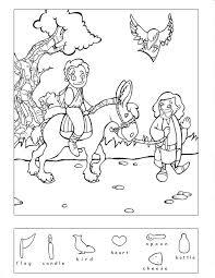 Good Samaritan 9 Other Bible Story Hidden Puzzles Coloring